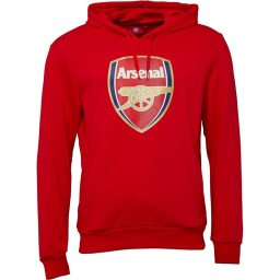 Puma AFC Arsenal Royal Crest Hoodie High Risk Red