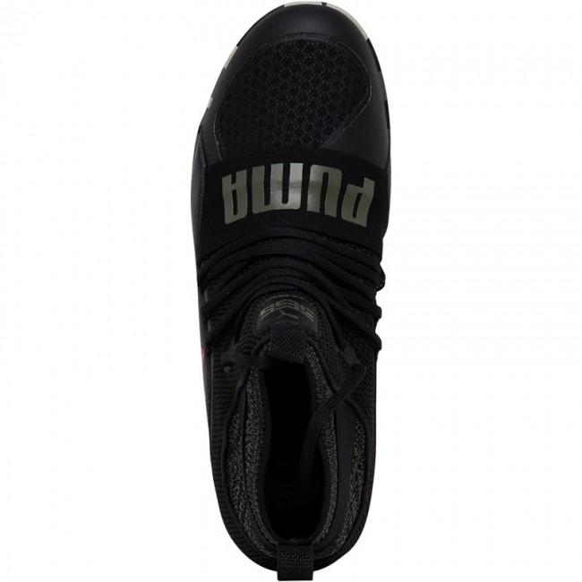 Puma 365 Ignite High ST Turf Astro Puma Black/Flame Scarlet