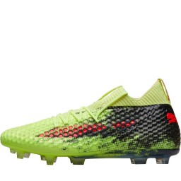 Puma Future 18.1 NetHybrid FG/AG Fizzy Yellow/Red Blast/Puma Black