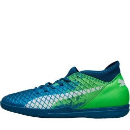Puma Future 18.4 IT Indoor Deep Lagoon/Puma White/Green Gecko