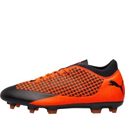 Puma Future 2.4 FG/AG Puma Black/Shocking Orange
