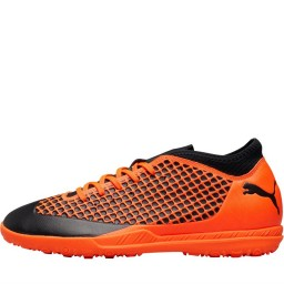 Puma Future 2.4 TT Turf Astro Puma Black/Shocking Orange