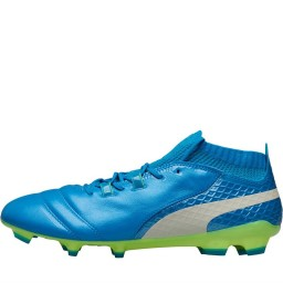 Puma One 17.1 FG Atomic Blue/Puma White/Safety Yellow