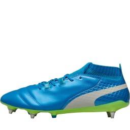 Puma One 17.1 MX SG Atomic Blue/Puma White/Safety Yellow