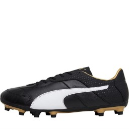 Puma Esito FG Black/White/Gold