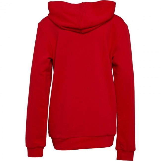 Puma Junior AFC Arsenal Royal Crest Hoodie High Risk Red