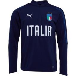 Puma FIGC Italy 1/4 Peacoat