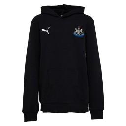 Puma Junior NUFC Newcastle United Fan Hoodie Black