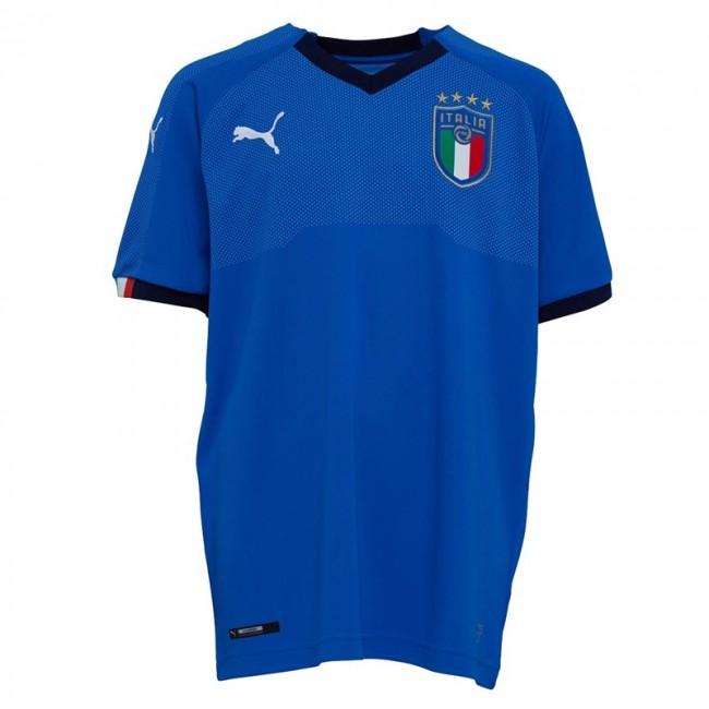 Puma FIGC Italy Home Power Blue/Peacoat