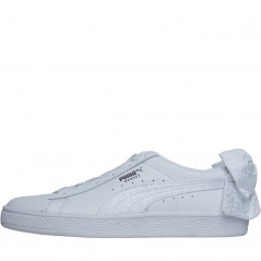 Puma Basket Bow Animal White/Silver