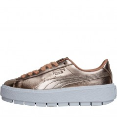 Puma Basket Platform Trace Luxe Dusty Coral