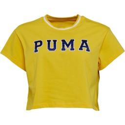Puma Cropped T-Dandelion