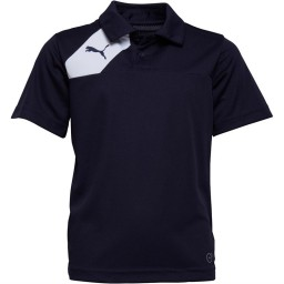 Puma Junior Esquadra Leisure Polo Navy/White