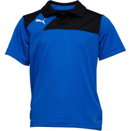 Puma Junior Esquadra Leisure Polo Royal/Black