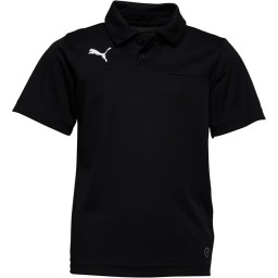 Puma Junior Esquadra Leisure Polo Black