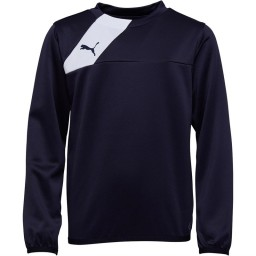 Puma Junior Esquadra SweatNavy/White