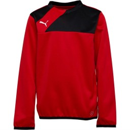 Puma Junior Esquadra SweatRed/Black
