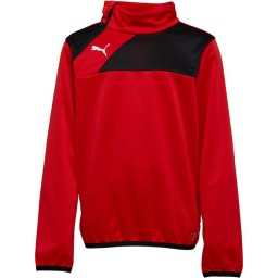 Puma Junior Esquadra 1/2 Red/Black