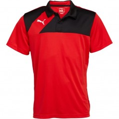 Puma Esquadra Leisure Polo Red/Black
