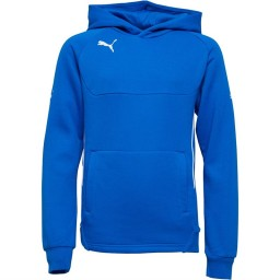 Puma Junior Pro Hoodie Royal/White