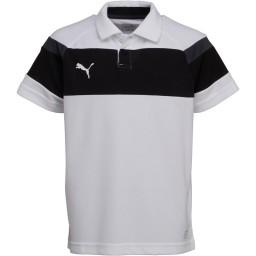 Puma Junior Spirit II Leisure Polo White/Black