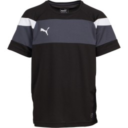 Puma Junior Spirit II Jersey Black/White
