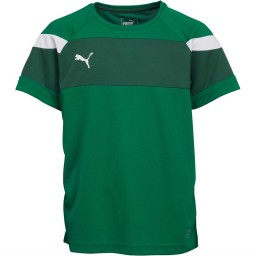 Puma Junior Spirit II Jersey Green/White