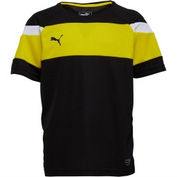 Puma Junior Spirit II Jersey Black/Yellow