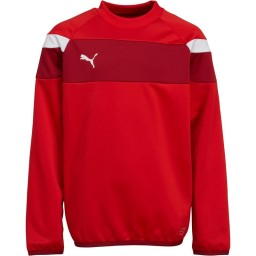Puma Junior Spirit II SweatRed/White