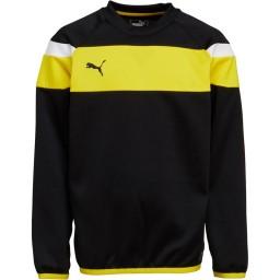 Puma Junior Spirit II SweatBlack/Yellow