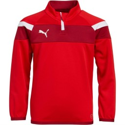 Puma Junior Spirit II 1/4 Red/White