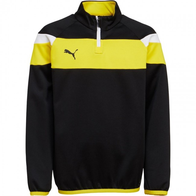 Puma Junior Spirit II 1/4 Black/Yellow