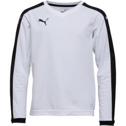 Puma Junior Pitch White/Black