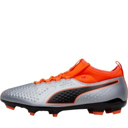 Puma One 3 Syn FG Puma Silver/Shocking Orange/Puma Black