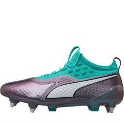 Puma One 1 World CLeather MX SG Colour Shift/Biscay Green/Puma Black