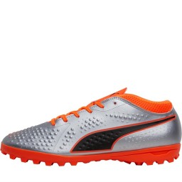 Puma One 4 Syn TT Puma Silver/Shocking Orange/Puma Black