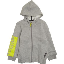 Reebok Essentials Full Hoodie Medium Grey Heather