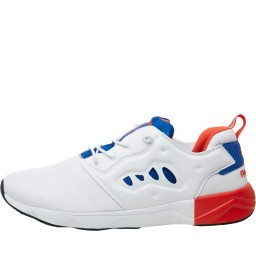 Reebok Classics Furylite II White/Collegiate Royal/Riot Red