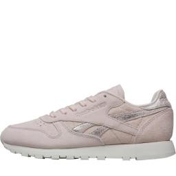 Reebok Classics Leather Shimmer Pale Pink/Matte Silver/Chalk