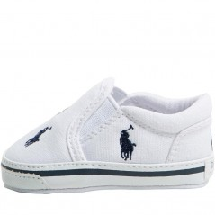 Ralph Lauren Baby Bal Harbour Crib White/Navy