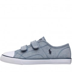 Ralph Lauren Kids Dyland EZ Blue Chambray