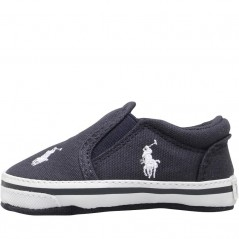 Ralph Lauren Baby Boy Harbour Crib Navy/White