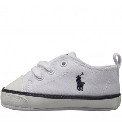 Ralph Lauren Bal Harbour Crib White/Navy
