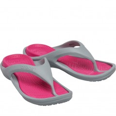 Crocs Athens Light Grey/Candy Pink
