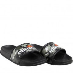 Ellesse Slide Black/Camo/White