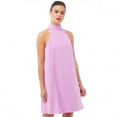 Ted Baker Torrii HalterScallop Tunic Pale Pink
