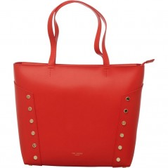 Ted Baker Tamiko Studded Edge Shopper Bright Red