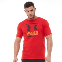 Under Armour HeatGear Giant Foundation Red