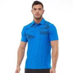 Under Armour HeatGear Playoff Polo Blue Circuit/Blue Circuit