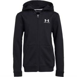 Under Armour Junior Full Hoodie Black